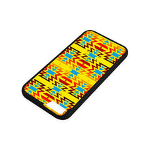 Big Pattern Fire Colors and Sky Yellow iPhone 6/6s Case iPhone 6/6s Rubber Case e-joyer