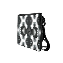 Black and White Sage 2 Slim Clutch Bag (Model 1668) Slim Clutch Bags (1668) e-joyer