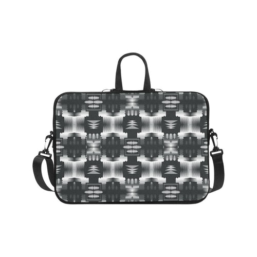 Black and White Sage Laptop Handbags 17
