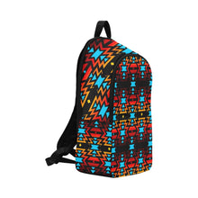 Black Fire Colors and Sky Large Backpack (Model 1659) Casual Backpack for Adult (1659) e-joyer