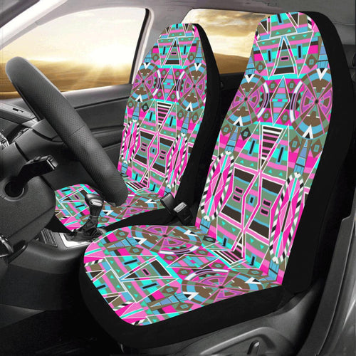 Blood Captive Large Car Seat Covers (Set of 2) Car Seat Covers e-joyer