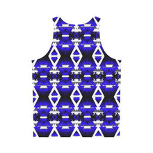 Blue Winter Camp All Over Print Tank Top for Men (Model T43) All Over Print Tank Top for Men (T43) e-joyer