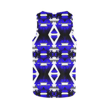 Blue Winter Camp All Over Print Tank Top for Women (Model T43) All Over Print Tank Top for Women (T43) e-joyer