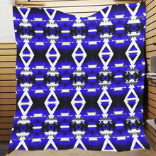 "Blue Winter Camp Quilt 70""x80"" Quilt 70""x80"" e-joyer"