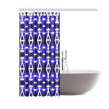 "Blue Winter Camp Shower Curtain 60""x72"" Shower Curtain 60""x72"" e-joyer"