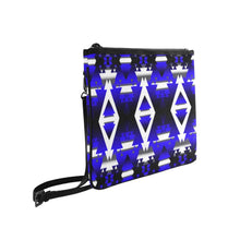 Blue Winter Camp Slim Clutch Bag (Model 1668) Slim Clutch Bags (1668) e-joyer