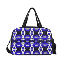 Blue Winter Camp Weekend Travel Bag (Model 1671) Weekend Travel Bag (1671) e-joyer