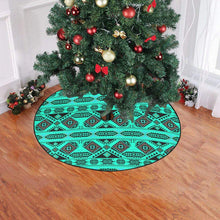 "California Coast Big Seas Christmas Tree Skirt 47"" x 47"" Christmas Tree Skirt e-joyer"