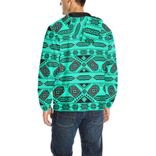 California Coast Big Seas Unisex Quilted Coat All Over Print Quilted Windbreaker for Men (H35) e-joyer