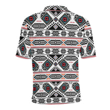 California Coast Men's All Over Print Polo Shirt (Model T55) Men's Polo Shirt (Model T55) e-joyer