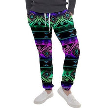 California Coast Sunrise Men's Jogger Sweatpants FullShirt 49 Dzine