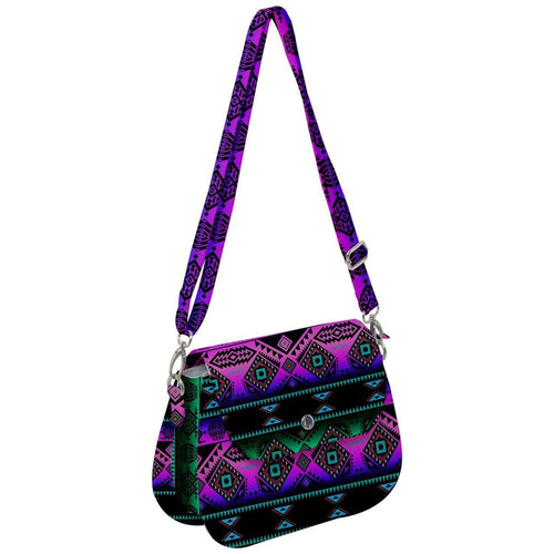 California Coast Sunrise Saddle Handbag cross-body-handbags 49 Dzine