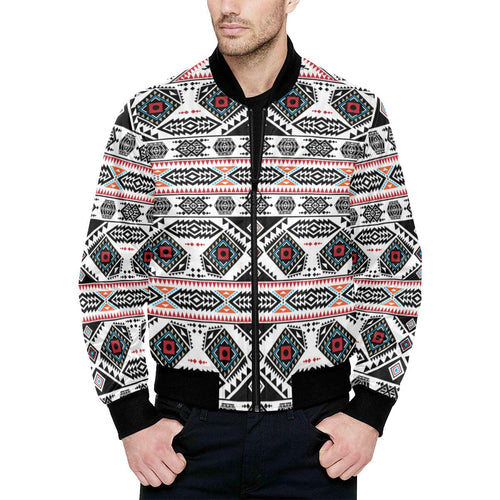California Coast Unisex Heavy Bomber Jacket with Quilted Lining All Over Print Quilted Jacket for Men (H33) e-joyer