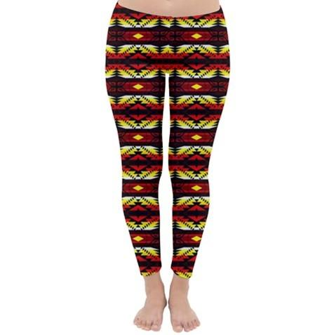 Canyon War Party Classic Winter Leggings leggings-pants 49 Dzine