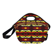Canyon War Party Neoprene Lunch Bag/Large (Model 1669) Neoprene Lunch Bag/Large (1669) e-joyer