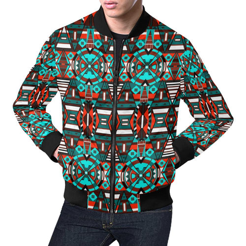 Captive Winter All Over Print Bomber Jacket for Men/Large Size (Model H19) All Over Print Bomber Jacket for Men/Large (H19) e-joyer