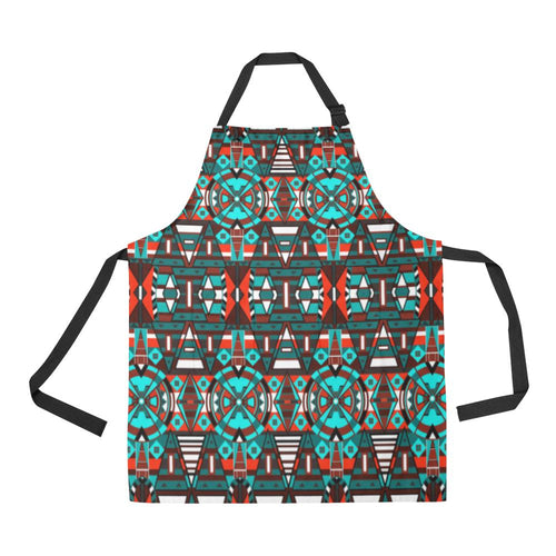 Captive Winter II All Over Print Apron All Over Print Apron e-joyer