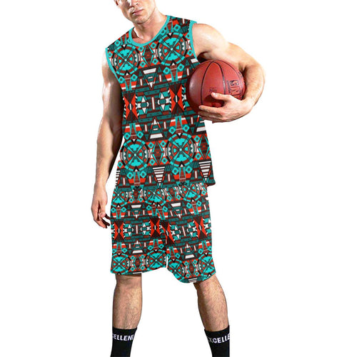 Captive Winter II All Over Print Basketball Uniform Basketball Uniform e-joyer
