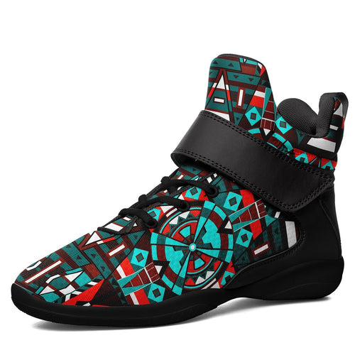 Captive Winter II Ipottaa Basketball / Sport High Top Shoes - Black Sole 49 Dzine US Men 7 / EUR 40 Black Sole with Black Strap