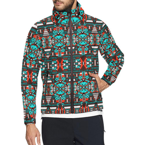 Captive Winter Unisex All Over Print Windbreaker (Model H23) All Over Print Windbreaker for Men (H23) e-joyer