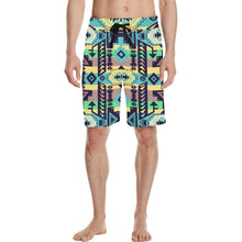 Chiefs Mountain 100 Men's All Over Print Casual Shorts (Model L23) Men's Casual Shorts (L23) e-joyer