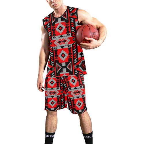 Chiefs Mountain Candy Sierra All Over Print Basketball Uniform Basketball Uniform e-joyer