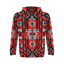 Chiefs Mountain Candy Sierra All Over Print Full Zip Hoodie for Men (Model H14) All Over Print Full Zip Hoodie for Men (H14) e-joyer