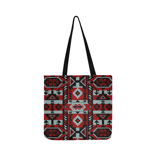 Chiefs Mountain Candy Sierra-Dark Reusable Shopping Bag Model 1660 (Two sides) Shopping Tote Bag (1660) e-joyer
