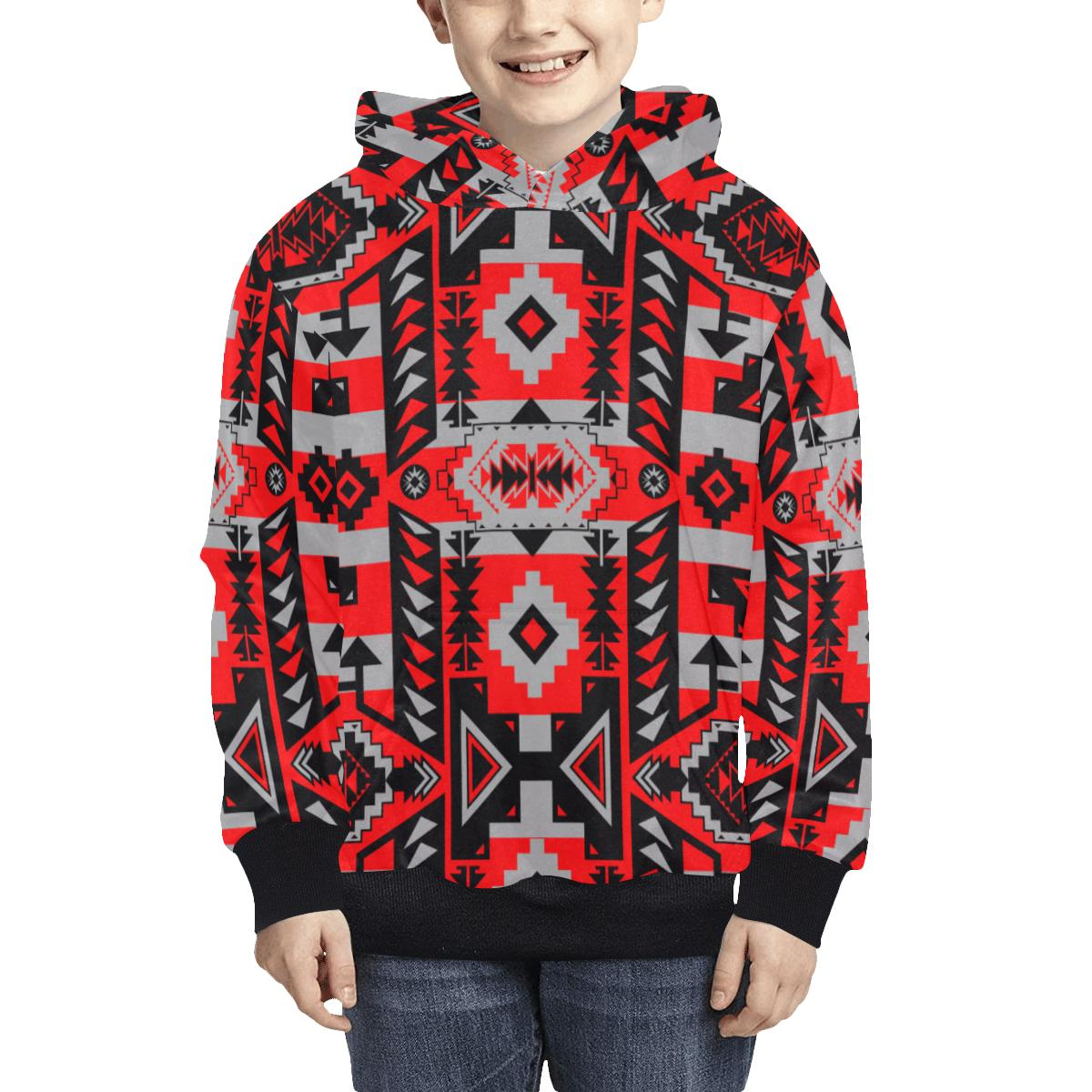 Chiefs Mountain Candy Sierra Kids' All Over Print Hoodie (Model H38) Kids' AOP Hoodie (H38) e-joyer