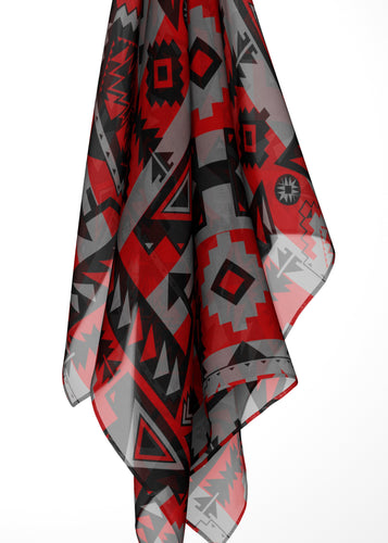 Chiefs Mountain Candy Sierra Large Square Chiffon Scarf fashion-scarves 49 Dzine