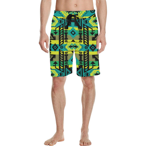 Chiefs Mountain Men's All Over Print Casual Shorts (Model L23) Men's Casual Shorts (L23) e-joyer