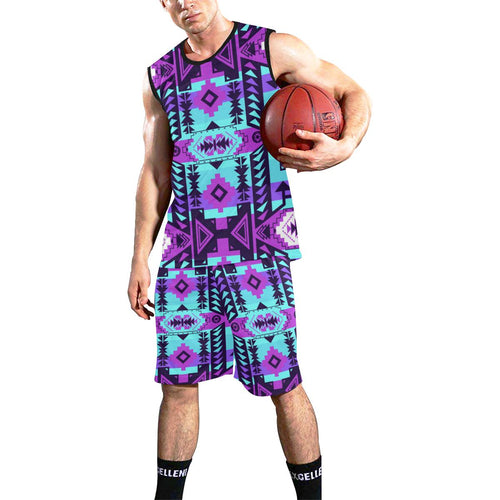Chiefs Mountain Moon Shadow All Over Print Basketball Uniform Basketball Uniform e-joyer