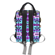 Chiefs Mountain Moon Shadow Multi-Function Diaper Backpack (Model 1688) Diaper Backpack (1688) e-joyer