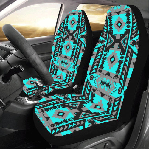 Chiefs Mountain Sky Car Seat Covers (Set of 2) Car Seat Covers e-joyer