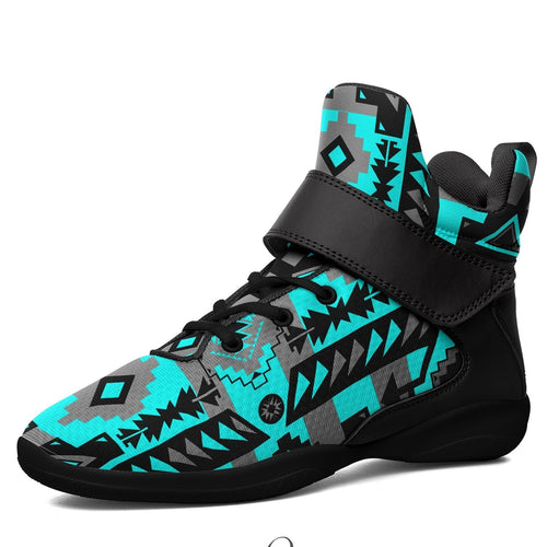 Chiefs Mountain Sky Ipottaa Basketball / Sport High Top Shoes - Black Sole 49 Dzine US Men 7 / EUR 40 Black Sole with Black Strap