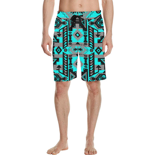 Chiefs Mountain Sky Men's All Over Print Casual Shorts (Model L23) Men's Casual Shorts (L23) e-joyer