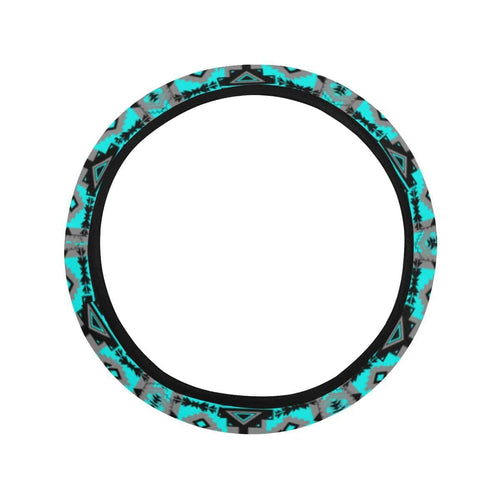 Chiefs Mountain Sky Steering Wheel Cover with Elastic Edge Steering Wheel Cover with Elastic Edge e-joyer
