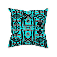 Chiefs Mountain Sky Throw Pillows 49 Dzine With Zipper Spun Polyester 14x14 inch