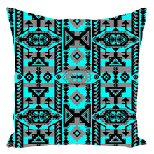Chiefs Mountain Sky Throw Pillows 49 Dzine With Zipper Spun Polyester 16x16 inch