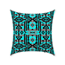 Chiefs Mountain Sky Throw Pillows 49 Dzine With Zipper Spun Polyester 18x18 inch
