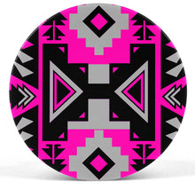 Chiefs Mountain Stunning Sunset Pop socket (White) PopSocket 49 Dzine