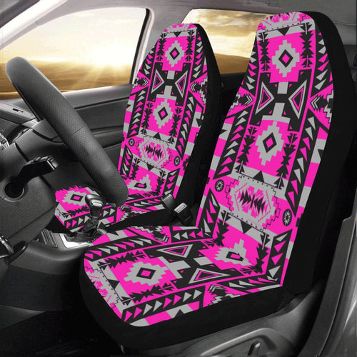Chiefs Mountain Sunset Car Seat Covers (Set of 2) Car Seat Covers e-joyer
