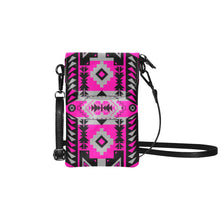 Chiefs Mountain Sunset Small Cell Phone Purse (Model 1711) Small Cell Phone Purse (1711) e-joyer