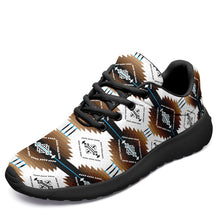 Cofitichequi White Ikkaayi Sport Sneakers 49 Dzine US Women 4.5 / US Youth 3.5 / EUR 35 Black Sole