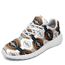 Cofitichequi White Ikkaayi Sport Sneakers 49 Dzine US Women 4.5 / US Youth 3.5 / EUR 35 White Sole