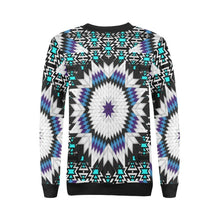 Cool Sky Star All Over Print Crewneck Sweatshirt for Women (Model H18) Crewneck Sweatshirt for Women (H18) e-joyer