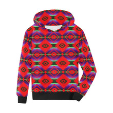 Cree Confederacy Chicken Dance Kids' All Over Print Hoodie (Model H38) Kids' AOP Hoodie (H38) e-joyer