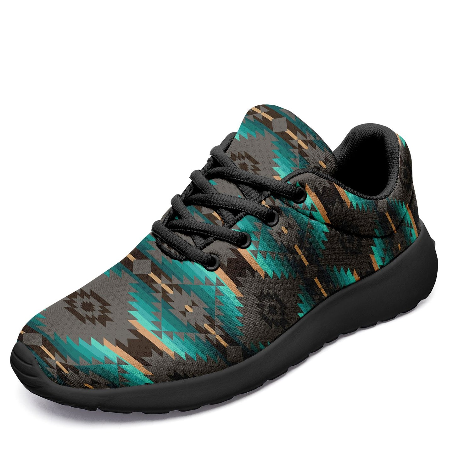 Cree Confederacy Ikkaayi Sport Sneakers 49 Dzine US Women 4.5 / US Youth 3.5 / EUR 35 Black Sole