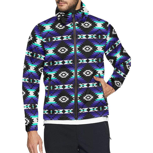 Cree Confederacy Midnight All Over Print Windbreaker for Unisex (Model H23) All Over Print Windbreaker for Men (H23) e-joyer