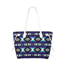 Cree Confederacy Midnight Clover Canvas Tote Bag (Model 1661) Clover Canvas Tote Bag (1661) e-joyer